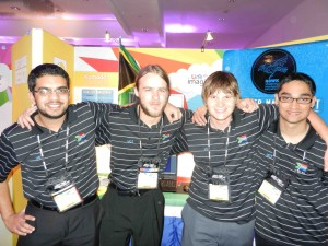 SA Team at Imagine Cup 2011