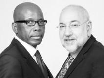 Mteto Nyati and Barry Dwolatzky
